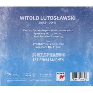 Lutoslawski: The Symphonies (2 CD)