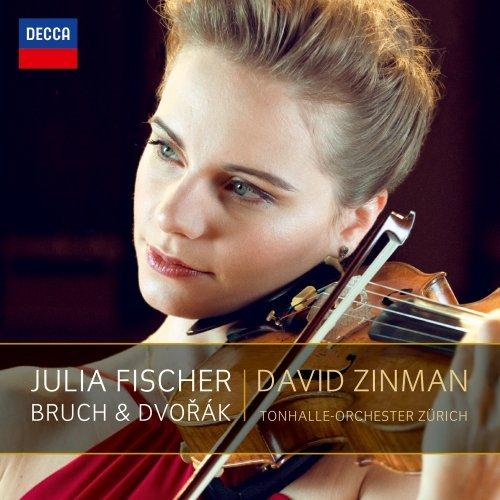 Julia Fischer's latest Decca release,the Violin Concertos of Bruch & Dvorak