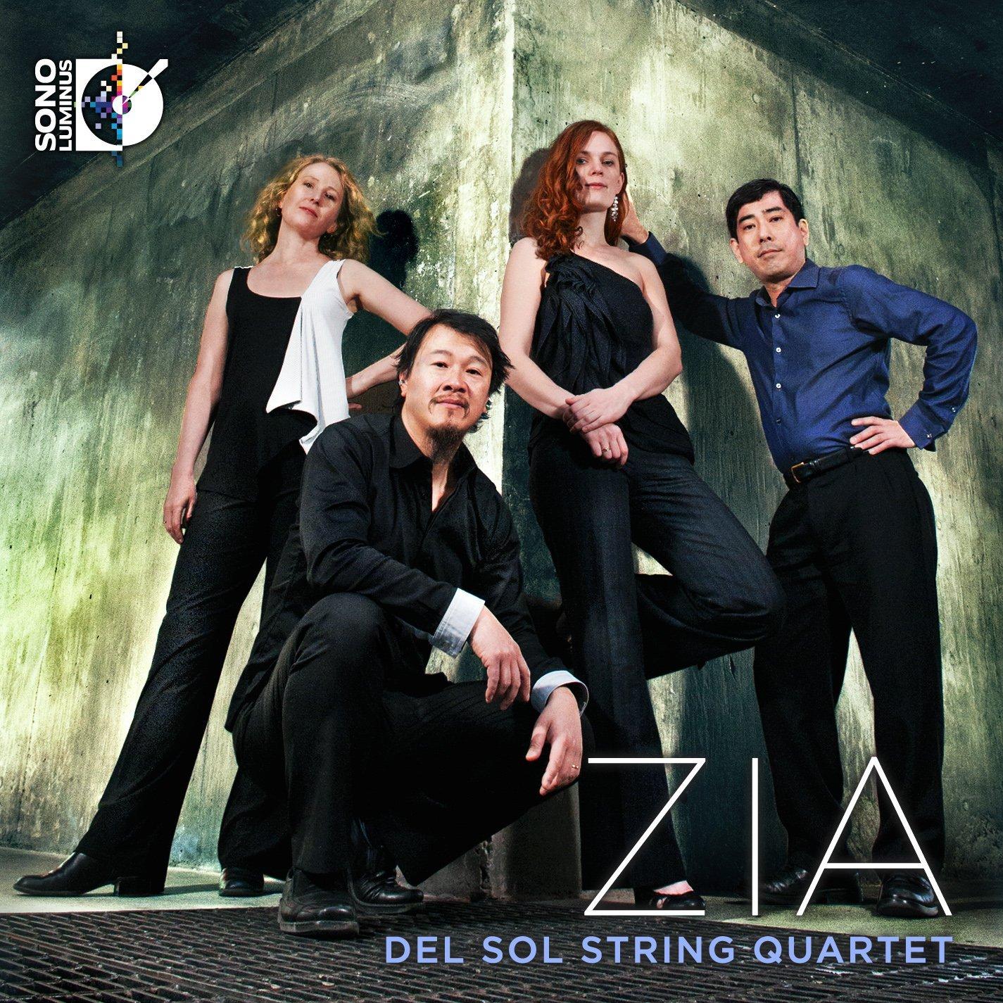 Del Sol String Quartet on Sono Luminus, Zia the Indians' symbol