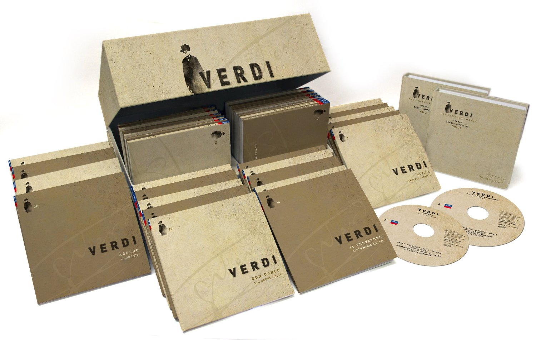 The Complete 75 CDs box-set 0f Verdi, Amazon for $132.99