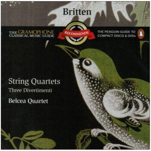 Belcea quartet Britten Quartets