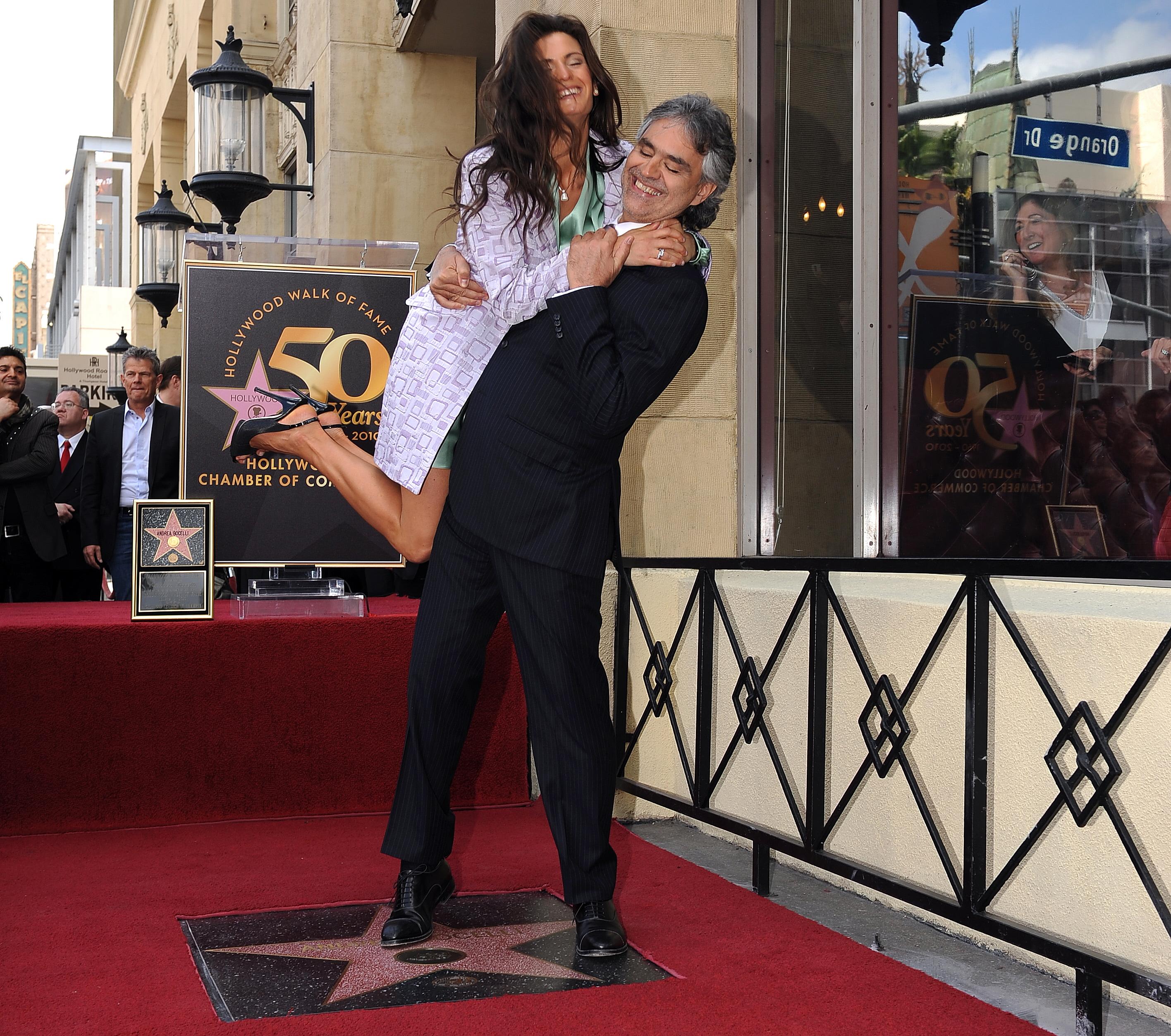 Andrea Bocelli & Veronica Berti