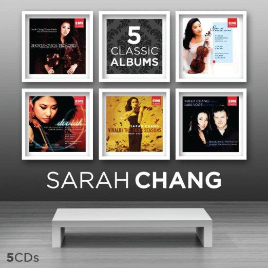 Sarah Chang: 5 Classic Albums