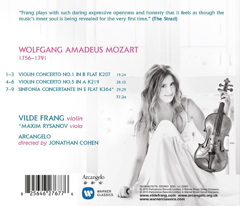 Vilde Frang & Mozart's Violin Concertos