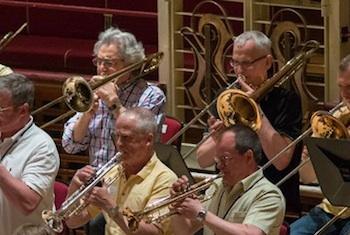 John Suchet trombone