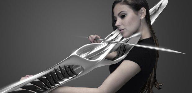 piezoelectric violin